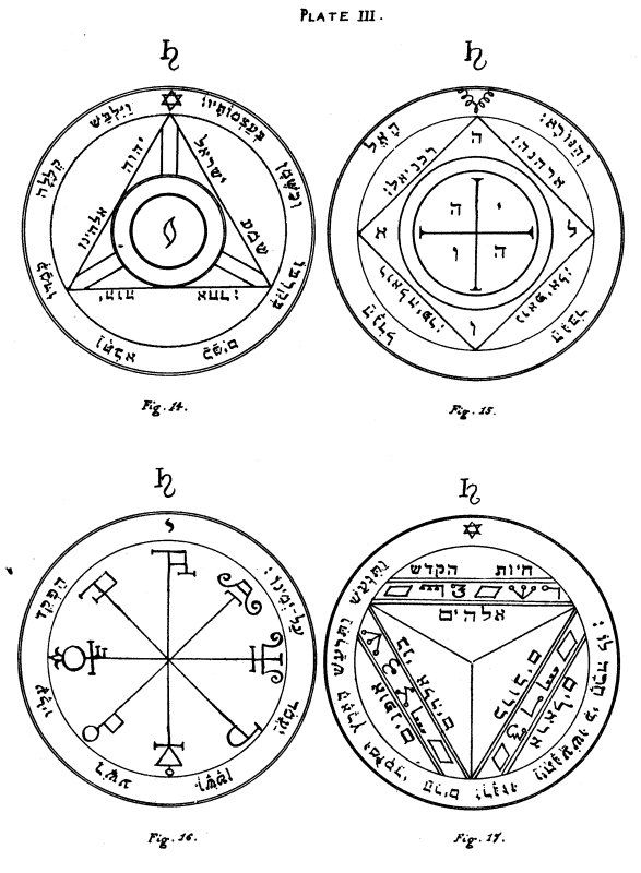 The Key of Solomon: Plates: Plate III