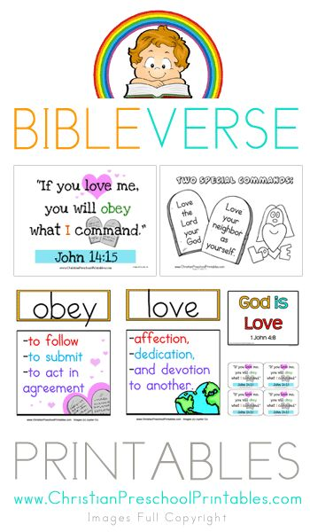 Visual Bible Verse Printables, Includes Bible Vocab, Character of God, Games and more
