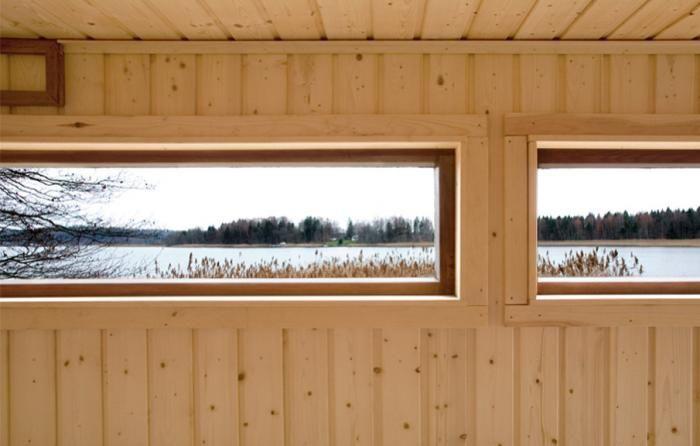 Finnish Sauna by a Lake : Remodelista