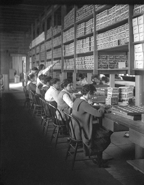 Working at Ingersoll Watch Company, 1916