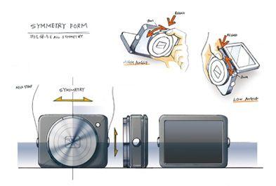 キヤノンカメラミュージアム | デザイン館 - カメラデザインの現場から : PowerShot N (3/5)