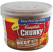 Campbell's Chunky Beef with Country Vegetables Soup (15.25 oz., 8 ct.)