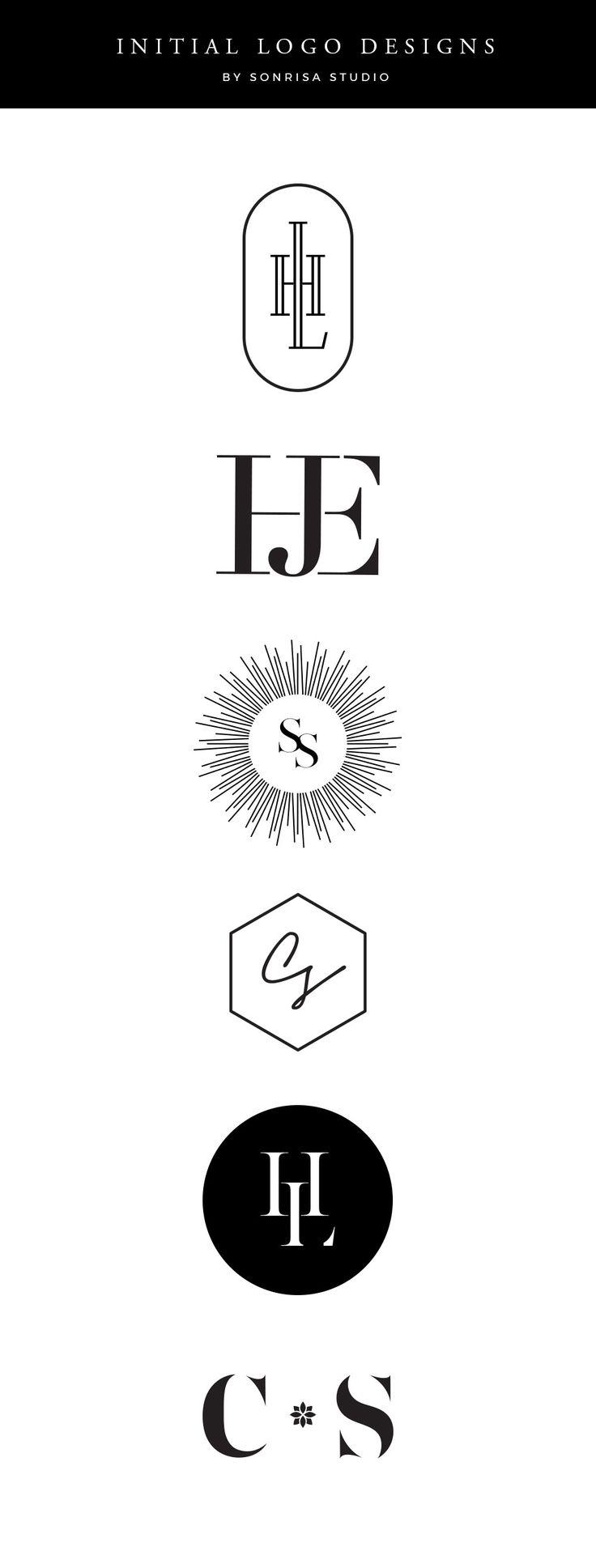Initial Logo Designs Initials logo, Clothing logo design