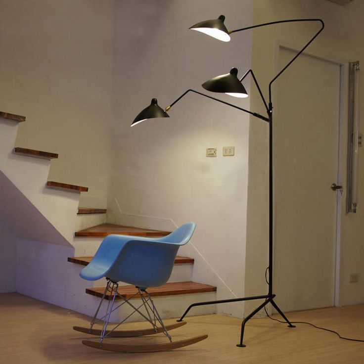 Free Shipping Creative 1/3 Arms Claws Floor Lamp Modern Serge Lighting For Standing  Lamp Part 92