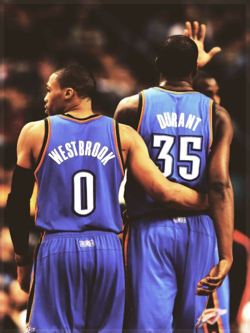 Russell Westbrook & Kevin Durant