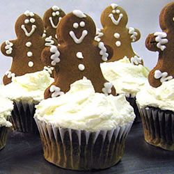 Gingerbread Cupcakes with Cream Cheese Frosting Allrecipes.com