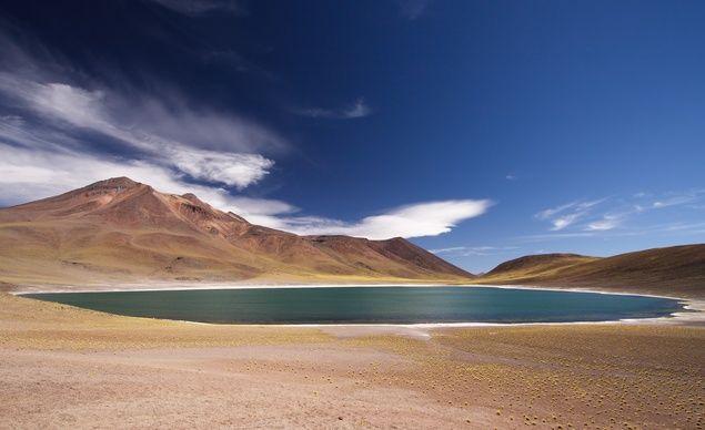 Cerro and Laguna Miñiques