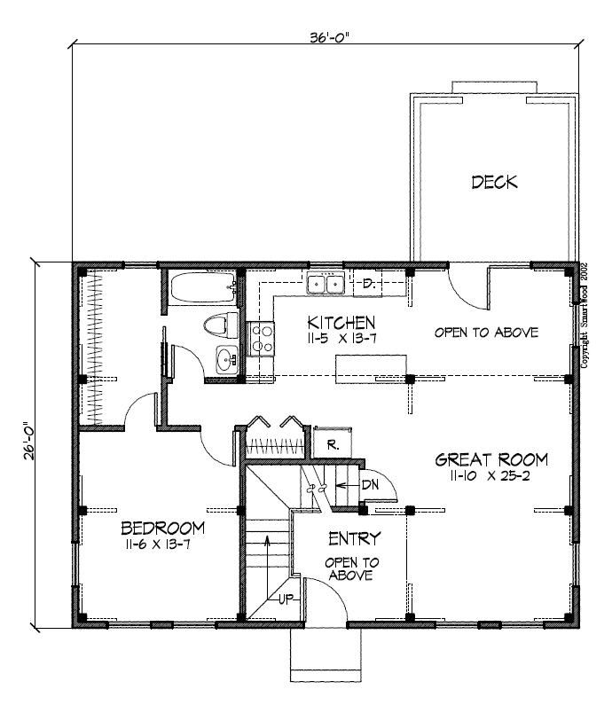 22 best images about house plans on pinterest saltbox for Timber home floor plans
