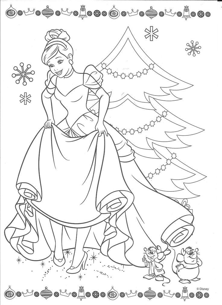 Cinderella Coloring Pages Pdf