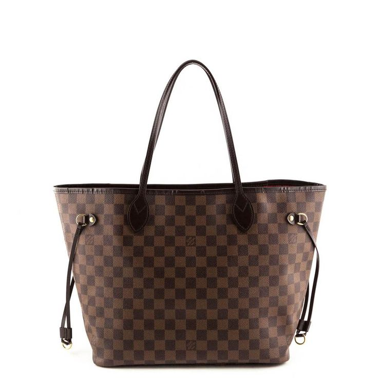 Louis Vuitton Damier Ebene Neverfull MM - LOVE that BAG - Preowned Authentic Designer Handbags