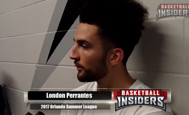 VIDEO: London Perrantes on Playing for the HEAT