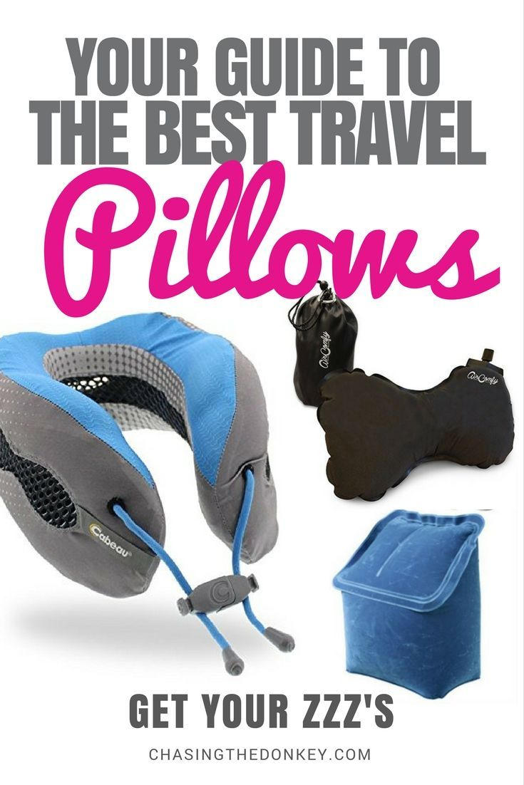 When it comes to long haul flights, sleep is important. Make sure you are well rested for your next adventure by packing one of these top travel pillows - perfect for that long haul flight. Time to get some ZZZ's. Click to find out more!