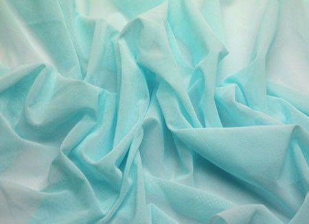 STRETCH NET - PALE TURQUOISE