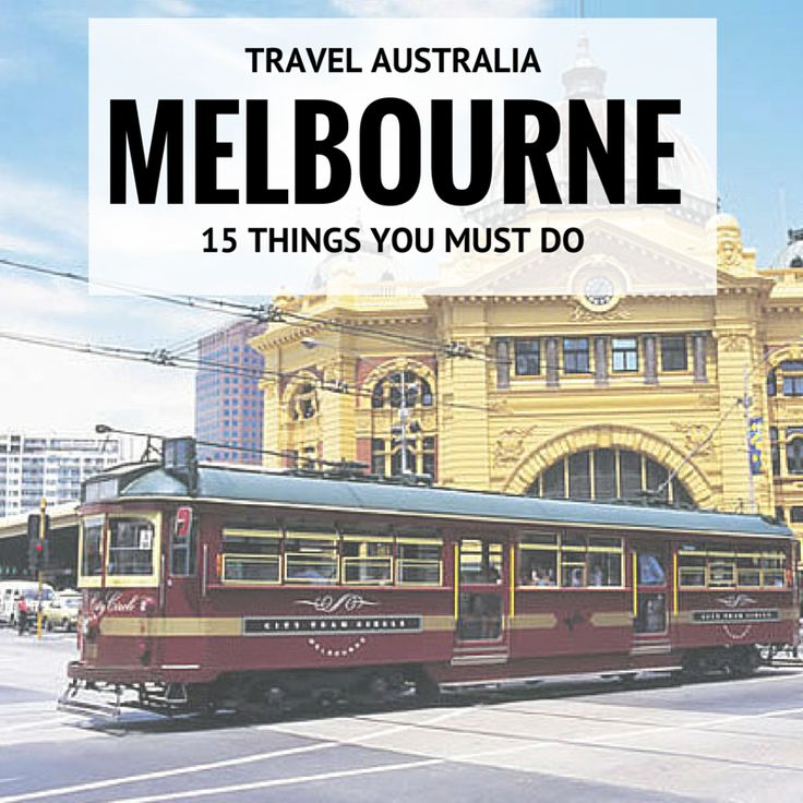 Melbourne is an amazing city in Australia and is known as the creative and cultural capital of Australia. There are so many little Melbourne secrets, that you should experience the city as the locals would. You can discover the 'real' Melbourne in laneways, amazing rooftop bars and in former industrial buildings.  If you're planning a visit to Melbourne, here are 15 things I think you should add to your travel itinerary.