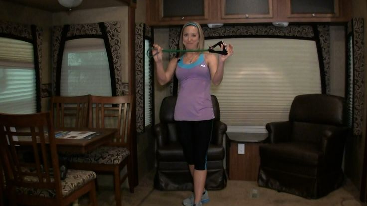 SilverSneakers in your RV - Resistance Band Workout for Senior Fitness o...