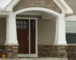 1000 images about exterior on pinterest craftsman Fypon pvc