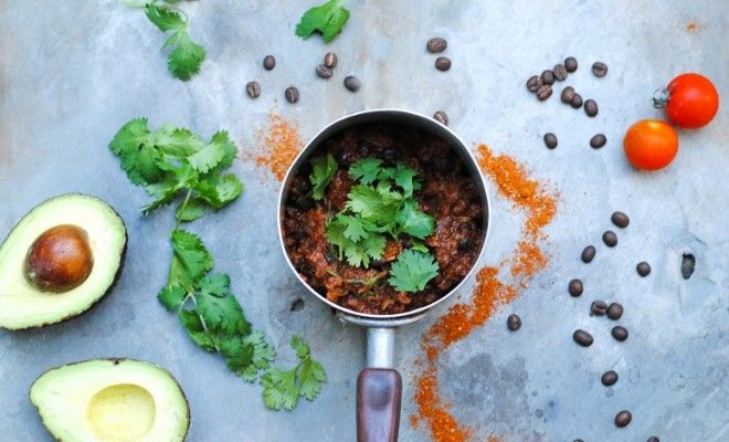 GRAM Magazine Black Bean and Coffee Mole Recipe Mexican | Gram Magazine