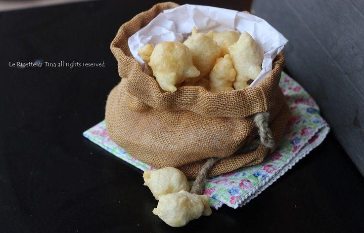 Frittelle al parmigiano croccanti