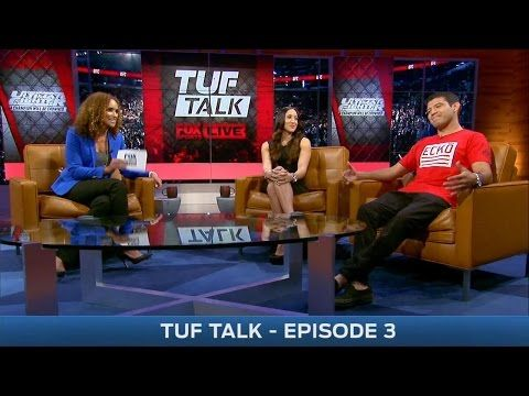 TUF Talk with Jessica Penne and Gilbert Melendez - YouTube