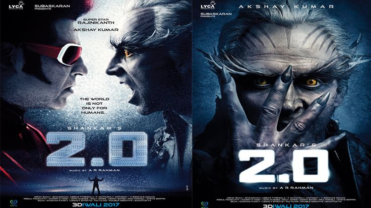 Rajini Kanth 2.0 Movie Details Rajini Kanth 2.0 Movie Details. 2.0 is the sequel of Super Hit Robo Movie. Superstar Rajinikanth and Shankar's most awaited sci-fi Movie, 2.0, is planned to release on Diwali 2017. Bollywood star hero Akshay Kumar is playing the main villain role in this Movie.   #2.0 movie details #rajanikanth 2.0 movie details #rajini akshay kumar robo 2.0 movie details