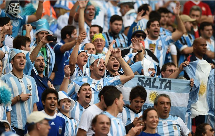 Argentina has some crazy fans! #9inesports @Argentina
