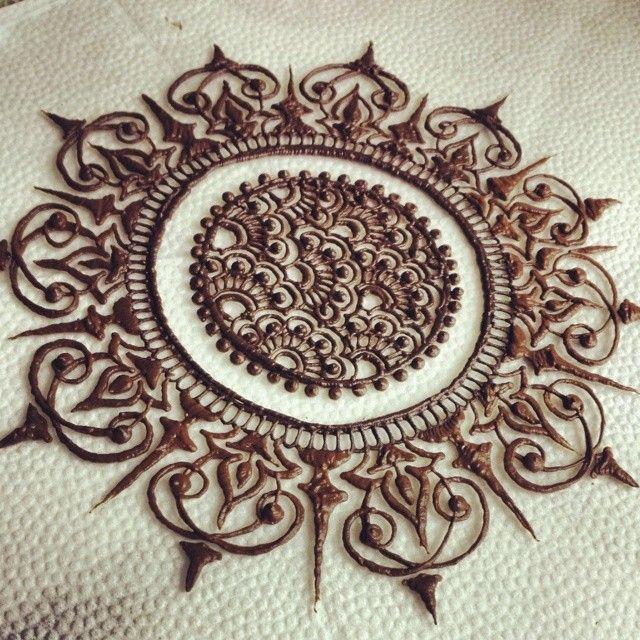 Mehndi henna designs on paper