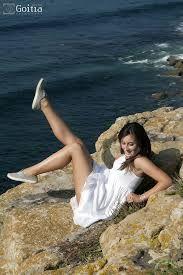 propuesta vestido en las rocas