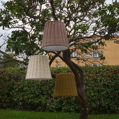 YlloTyll Garnblogg: Sticka en lampskärm i höst