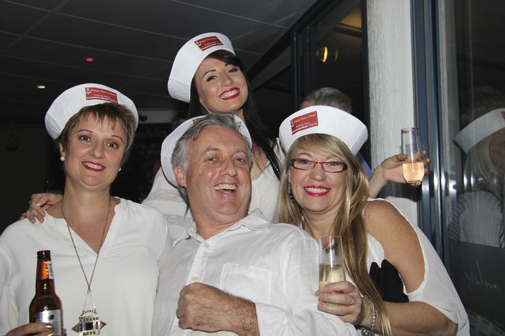 "You know that saying ""a picture speaks a thousand words""... well, I think it's safe to say this picture shows just how much fun our team had (Bec, Sandra & Karen W pictured here with board director David) at the State Community Bank Conference welcome drinks."