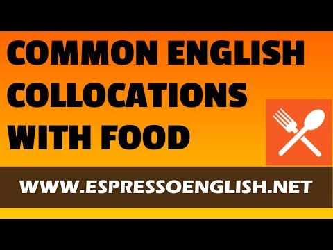 50+ Common English Words commonly used to talk about FOOD qualities and tastes - YouTube