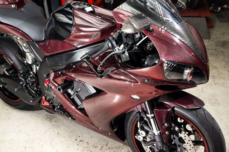 YZF-R1 RED CARBON