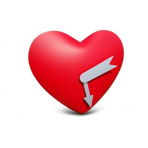 Heart Wall Clock - Kalp Duvar Saati ::