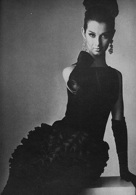 Veronica Hamel by Richard Avedon  Vogue 1964