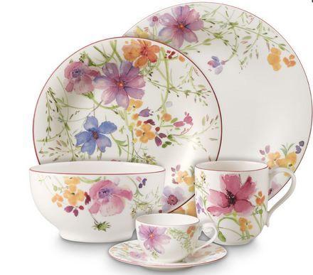 Mariefleur Salattallerken 21 cm fra Royaldesign. Om denne nettbutikken: http://nettbutikknytt.no/royaldesign/