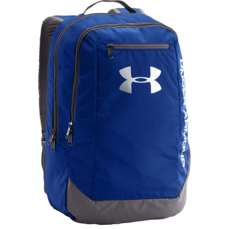 Sportovní batoh Under Armour Hustle modrý, skvělý na fitness i do školy