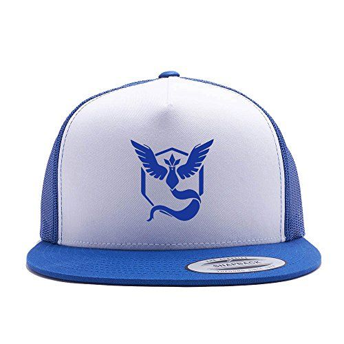 Pokemon Go Hat Team Mystic Trucker Hat Snap Back (One Size Fits All, Royal) | #Apparel #external #Shirts #Men #Clothing #Shoes