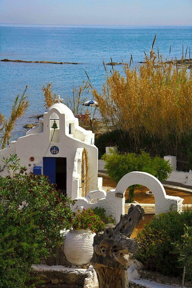 """ღღ Crete, Hersonissos,Greece. """"Lychnostatis"""" Open Air Museum."""