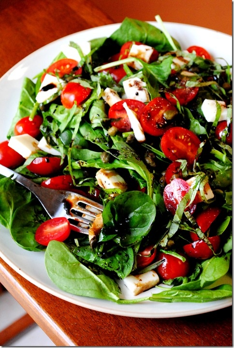 Caprese Salad - one of my favorites to order when we go out to eat. I ...