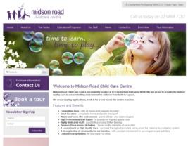 http://midsonroadchildcare.com.au    Design  #97