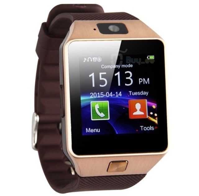 Jewelry & Watches Bluetooth Smart Watch W/camera Waterproof Phone Mate For Android Samsung Iphone
