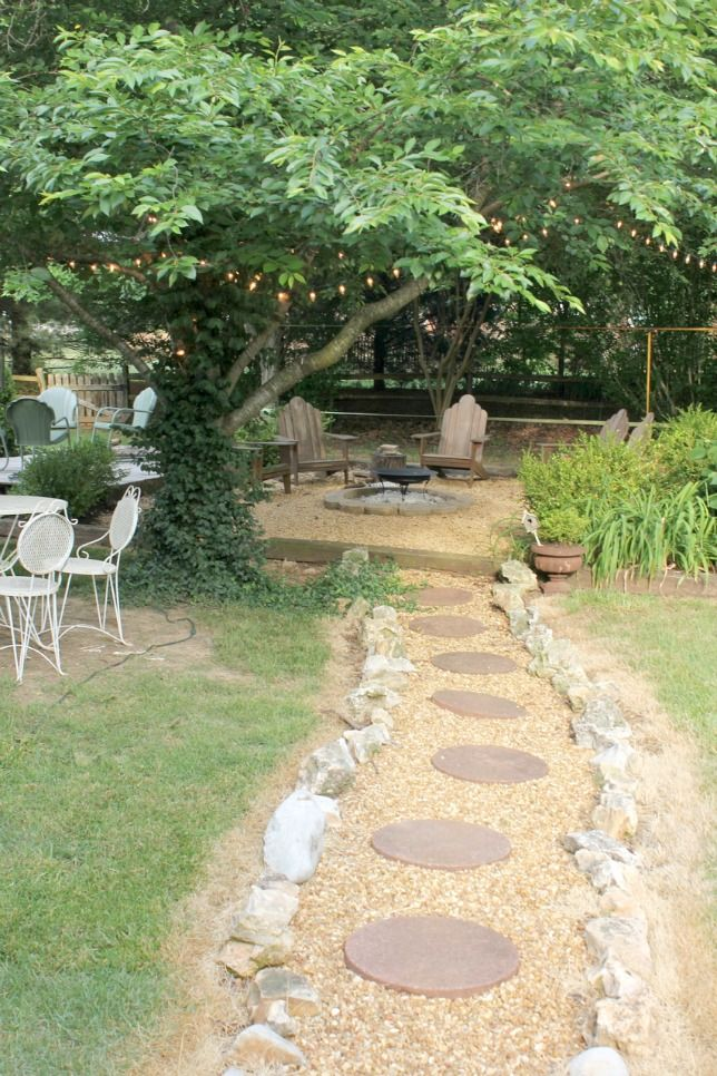 My Backyard Tour...14 Years in the Making - love this - and it would work in my yard