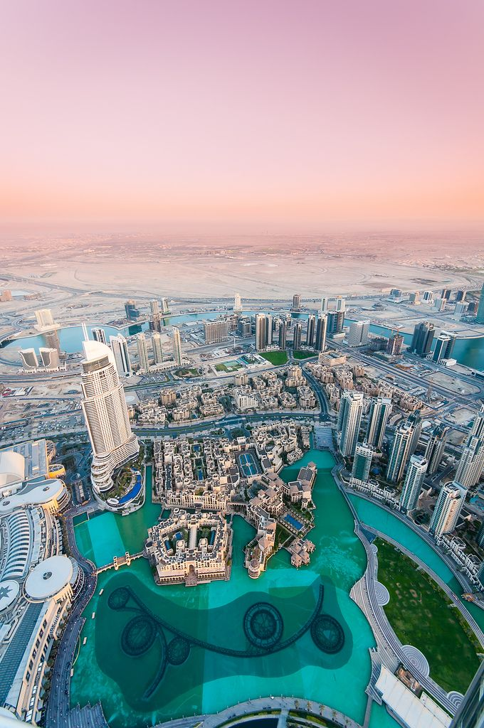 At the top of the Burj Khalifa, Dubai UAE (by Billy Richards)  TRAVELINGCOLORS