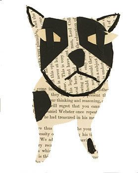 Boston Terrier Collage