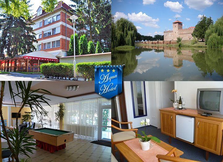 Mai utazás Belföld Kupon - 50% kedvezménnyel - Mai utazás Belföld - Wellness napok a gyulai Aqua Hotelben, svédasztalos reggelivel, ajándék wellness Várfürdő belépővel, pálinkával, hétköznapokon ajándék Castello Szauna park belépővel 19.990 Ft-ért. Az ajánlat 2 éj 2 fő részére szól, most fizetendő 3.000 Ft..
