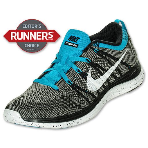 Weekend Snag: Men\u0027s Nike Flyknit Lunar One+ Running Shoes | FinishLine.com  | Black