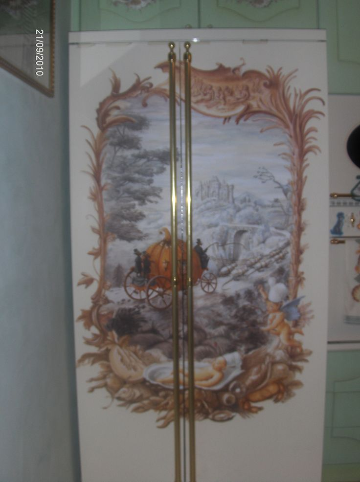 frigorifero dipinto