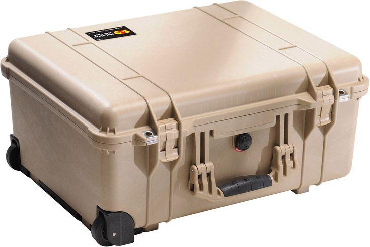 Pelican 1560 Case with Foam for Camera (Desert Tan)