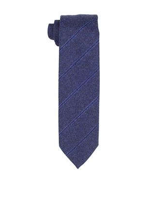 79% OFF Desanto Men's Diagonal Stripe Scozia Tie, Navy
