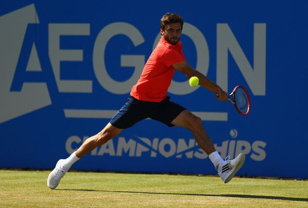 Gilles Simon Photos: Aegon Championships - Day Five