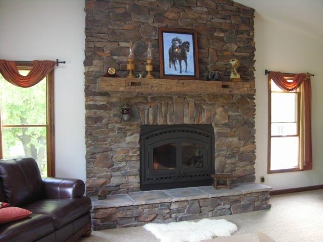 7 best Fireplaces images on Pinterest | Wood mantels, Corner ...